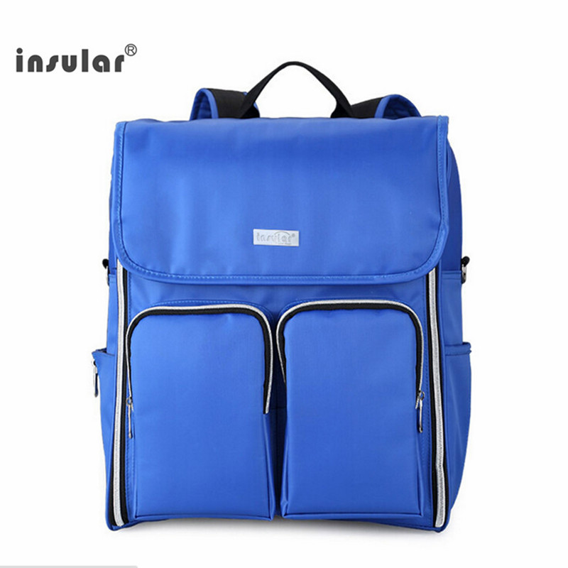 ФОТО Insular Baby Diaper Backpack Multifunctional stroller Bag for Mom Changing Bags Maternity Waterproof Nappy Travel Bag free ship