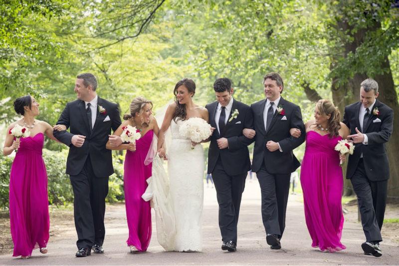 Mariage de taille : 6 d'honneur