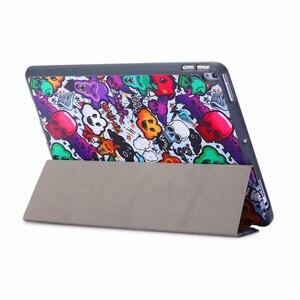 "Image 5 - Coque en silicone pour iPad Air 3 2019 10.5, coque intelligente 10.5 ""2017"", avec porte crayon + protecteur décran + stylo"