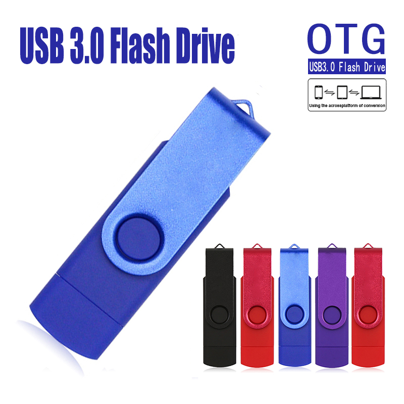 Colorful OTG USB Flash Drive Cle USB 3.0 Pen Drive 128GB Pendrive 64GB 32GB 16GB 8GB Memoria USB Sitck 256GB Storage Devices
