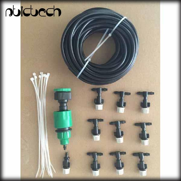 By Dhl Or Ems 100 Pieces Outdoor Sprinkler Garden Patio Misting Cooling  System 10 Plastic Mist Nozzle