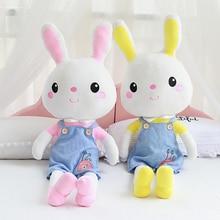 60/80/110cm Cute Bunny Plush Rabbit Toy Soft Stuffed Rabbit Gift Decor Baby Appease Toys For Children Kids Birthday Gift цена в Москве и Питере