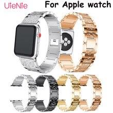Для apple watch band 40 мм 44 38 42 смарт часы ремешок для series