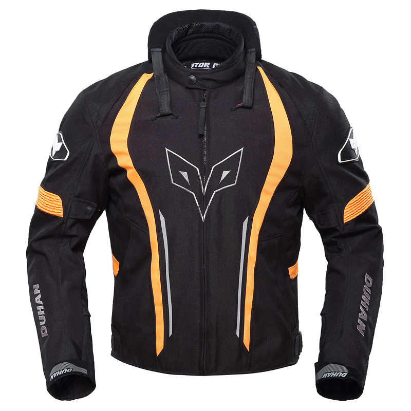 Motorcycle jacket DUHAN Spring motorbike jacket windproof thermal waterproof motocross winter clothes winter apparel
