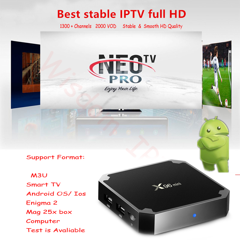 French Iptv Subscription Live TV VOD Movies Channels French Arabic UK Europe Neo One Year Android, Smart TV,M3U, Enigmas 2