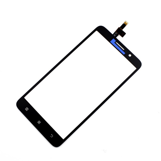 Vannego New Front Glass Lens Panel Touch Screen Digitizer Replacement For Lenovo A850 plus