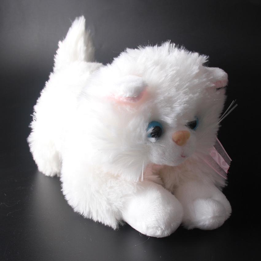 25cm 10 Simulation Cats Plush Toys Soft Sounding Kittens Stuffed Doll Brinquedos Baby Kids Gifts