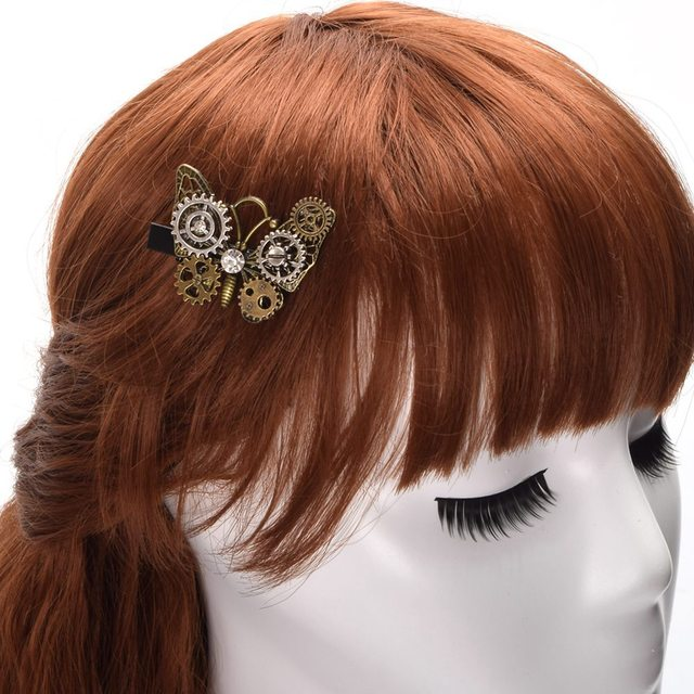 The Dutterfly – Steampunk Hair Clip