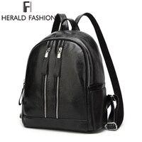 40kフォージワールドカオスデーモンヘラルドファッション女性旅行バックパックヘッドホン穴新しいデザインスクールバッグソフトpuレザーバックパック到