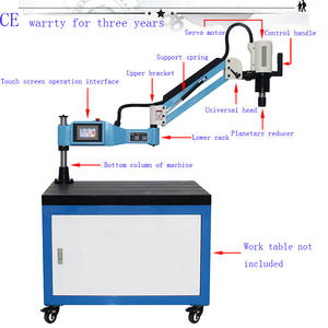 M3-M16 CE 220 V Universal Type Electric Tapping Machine