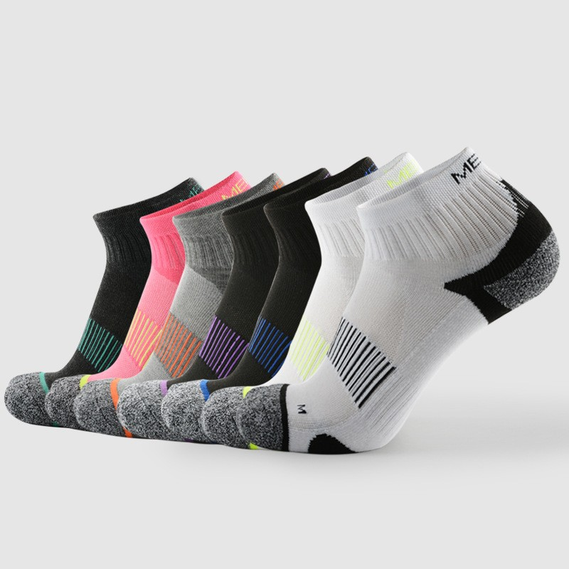6 pairs Unisex Compression Socks Crew socks for men and women Breathable soft 7 colors 3 sizes