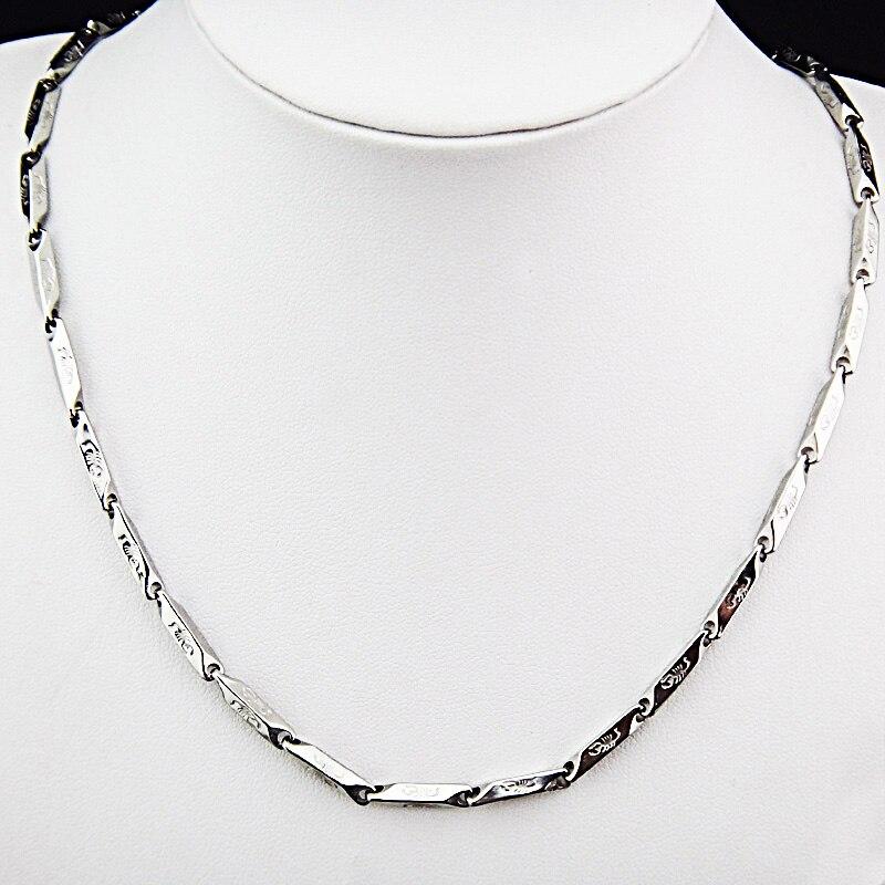 Горячая Распродажа шармы 316L нержавеющая сталь женское мужское ожерелье для костюма модные золотые серебряные ювелирные изделия A-816 - Окраска металла: E