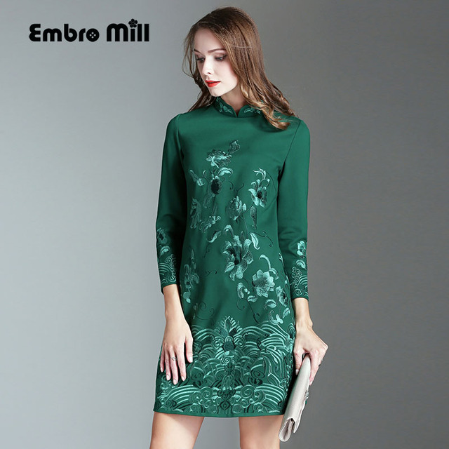 Green Winter Dresses