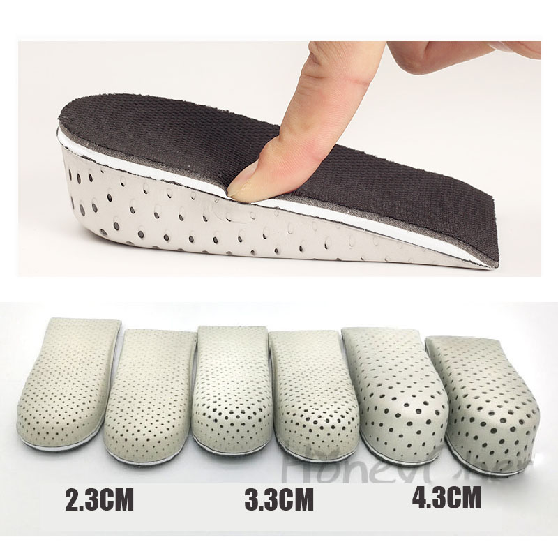 NANCY TINO Shoe Insoles Breathable Half Insole Heighten Heel Insert Shoes Pad Cushion Unisex Height Increase Insoles 1 4cm in Insoles from Shoes
