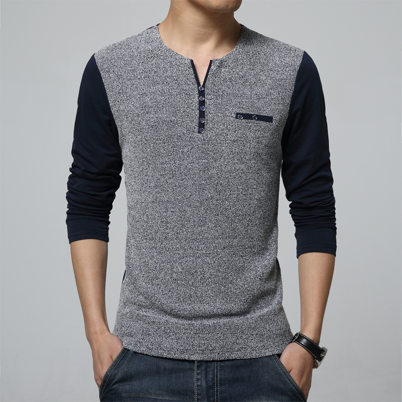 Compare Prices on Mens Henley Tee- Online Shopping/Buy Low Price ...