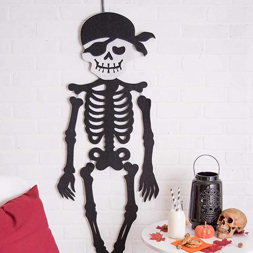Indoor and Outdoor Halloween Hanging Door Decorations and Wall Signs For Home School fice Party Decorations Pirate Toys