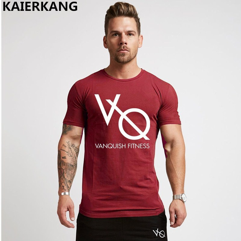 2018 New Model clothes Gyms Tight t-shirt mens health t-shirt homme printing t shirt males health crossfit Summer season shirt tees T-Shirts, Low cost T-Shirts, 2018 New Model clothes...