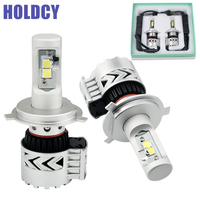 H4 9004 9007 Hi Lo Beam H16 9012 880 LED Car Headlights Bulb 72W 12000LM Automobile