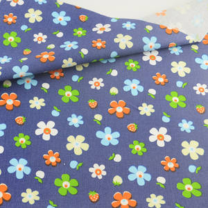 Flower Cotton Fabric Patchwork Teramila Sewing Cloth