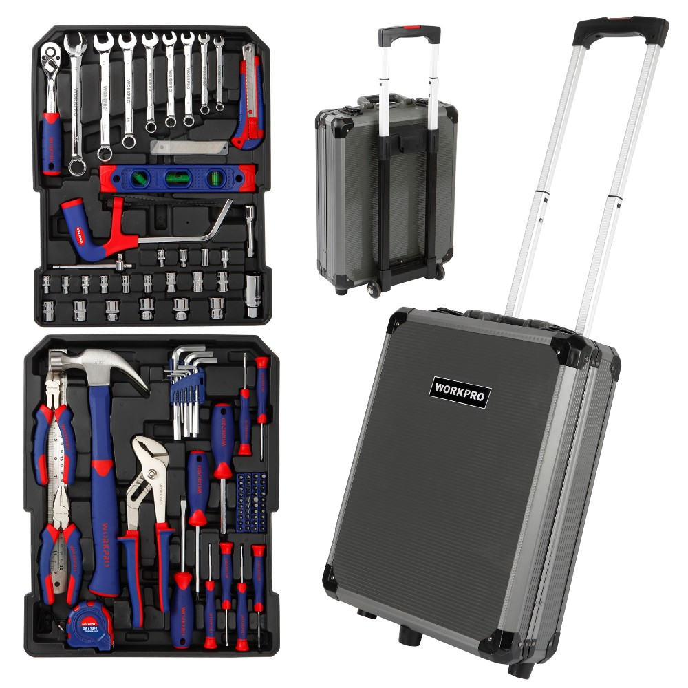 WORKPRO 111PC Trolley Case Tool