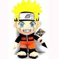 30 cm Anime japonés Naruto juguete de felpa de Kawaii Uzumaki Naruto peluche muñecas suaves juguetes de peluche figura de juguete para niños regalos envío gratis
