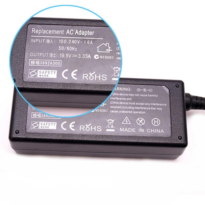 19.5 V 3.33A 4.5*3.0mm Adaptateur secteur Pour ordinateur portable hp Envy4 Envy6 K001TX C8K20PA TPN-F112 F113 Pavilion 15 Série Ordinateur Portable Chargeur