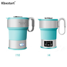Smart Foldable Electric Kettle Hot Water Collapsible Chaleira Travel Portable Water Boiler With Cup  Hervidor Electrico 220V все цены