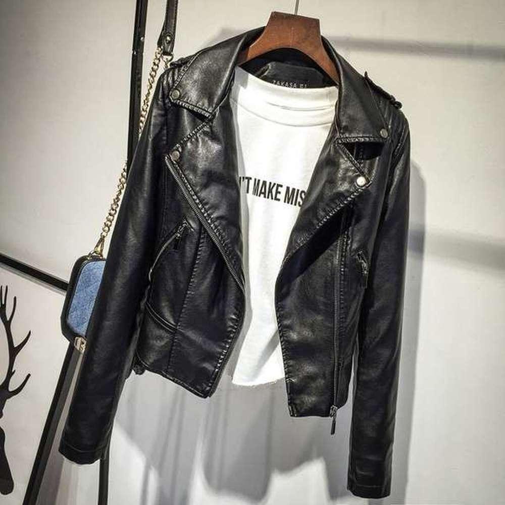 pink Print Jackets Coat Black Bts Pink Women Pu Streetwear Logo Leather black Brand Serpents Southside Riverdale fdwqBZdx