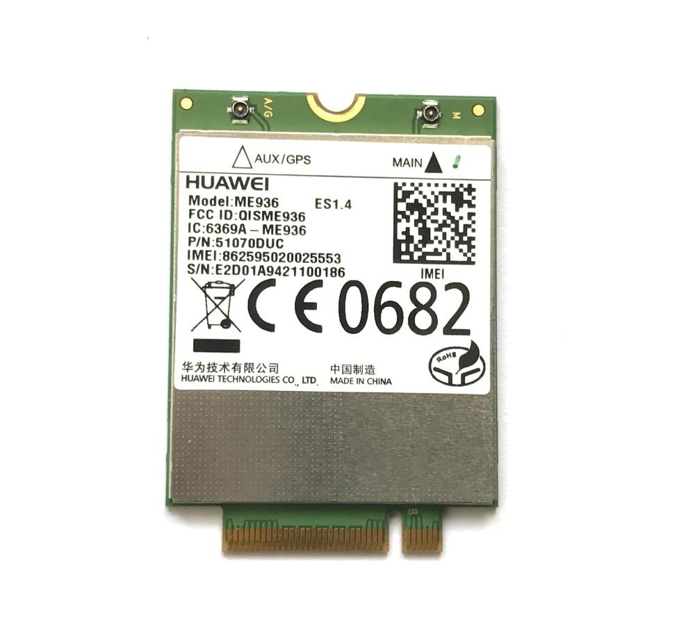 For ME936 4G LTE Modules NGFF Quad-band WCDMA/HSDPA/HSUPA/HSPA+ GPRS/EDGE Wireless M.2 Card