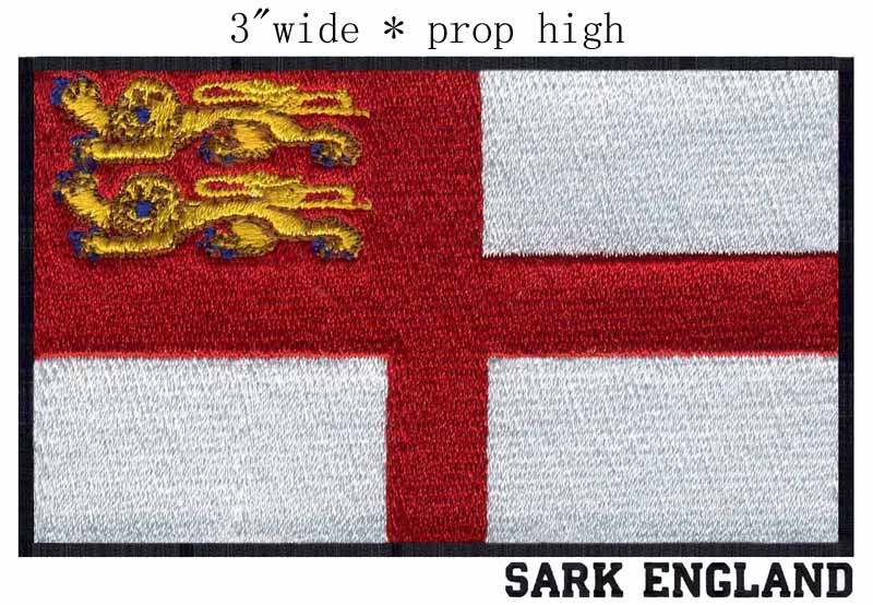 St George Peace Patch England Saint English Fingers Woven Sew On Applique