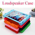 New Anti-knock silicon tablet PC for 7.9 inch Apple iPad mini 1234 with Stand protective loudspeaker case shell skin back cover