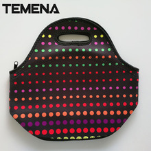 Lancheira термо теплоизоляцией неопрен обед мешок для женщин детей lunchbags тотализатор с молнией охладителя контейнер для ланча изоляции мешок