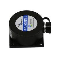 BW-VG225 eixo duplo inclinômetro inclinação ângulo sensor dinâmico passo/rolo precisão 1/estática saída de 0.1 graus: pode redondo