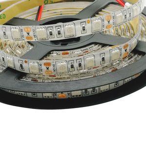 12В 5 М УФ ультрафиолетовая Светодиодная лента 5050 SMD 60led/m IP65 или IP20 не Водонепроницаемая фиолетовая 12В гибкая светодиодная лента лампа