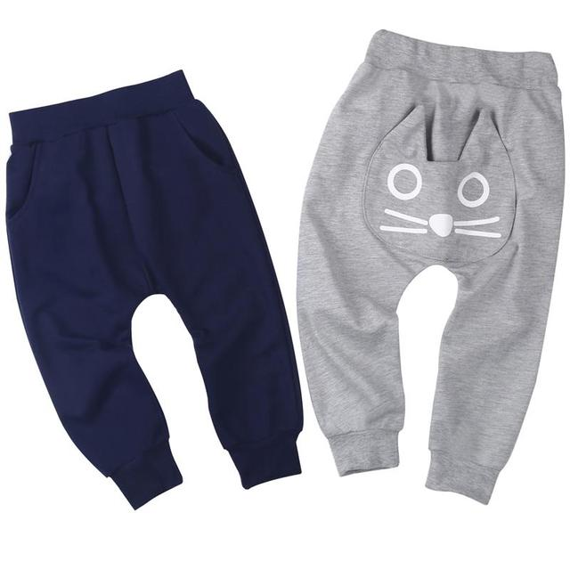 Unisex Elastic Waist Baby Pants