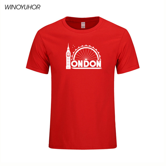 London Big Logo Mens Short-Sleeve Shirt