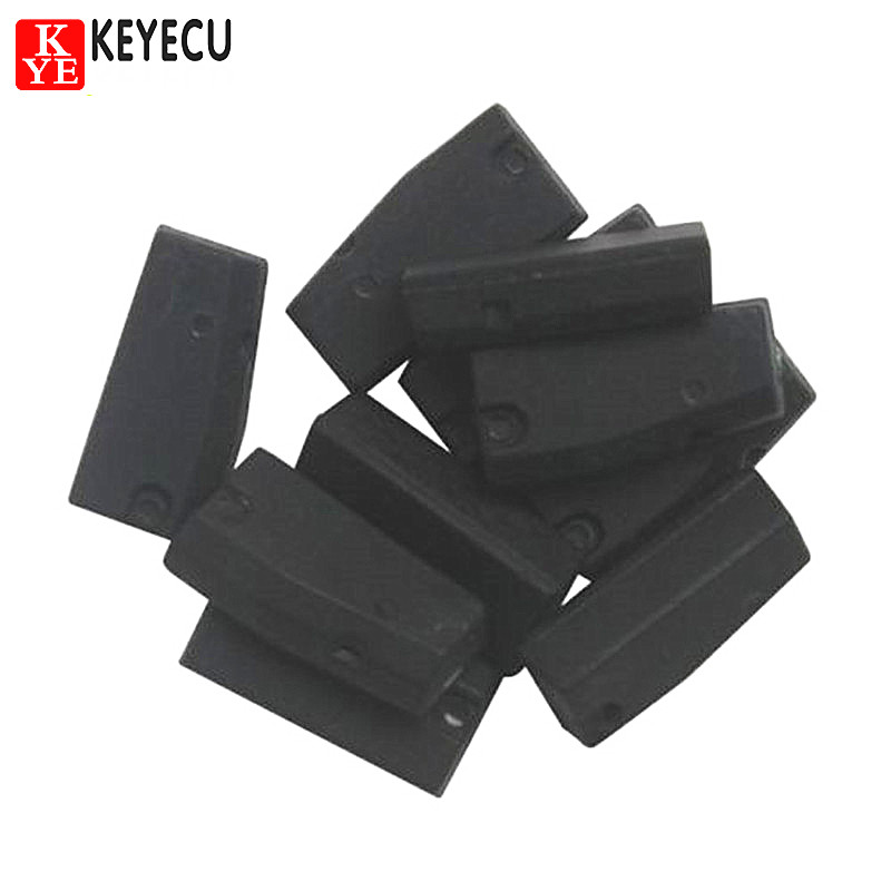 KEYECU 10PCS Car Key Chips Texas 4C Transponder Chip for Toyota Lexus Infiniti