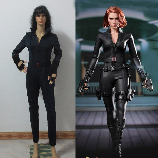 captain america 3 civil war costume natasha romanoff black widow cosplay costume adult women halloween