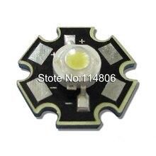 10pcs/lot 3W 45mil Chip Warm White 3000~3500K LED Bead Light Part Emitter With 20mm Star Base