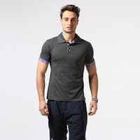 New Personality Floral Splicing Printing Cultivate One S Morality Leisure Men S Polo Shirt Lapel Fitness
