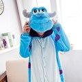S-xl фланель монстр взрослых onesies пижама мультфильм животных костюм пижама мужская pijamas, Пижамы, Ну вечеринку одежда