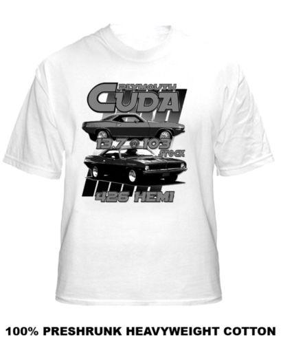70 Plymouth Cuda Stock Muscle Car Hemi T Shirt  Cool Casual pride t shirt men Unisex New Fashion tshirt free shipping tops