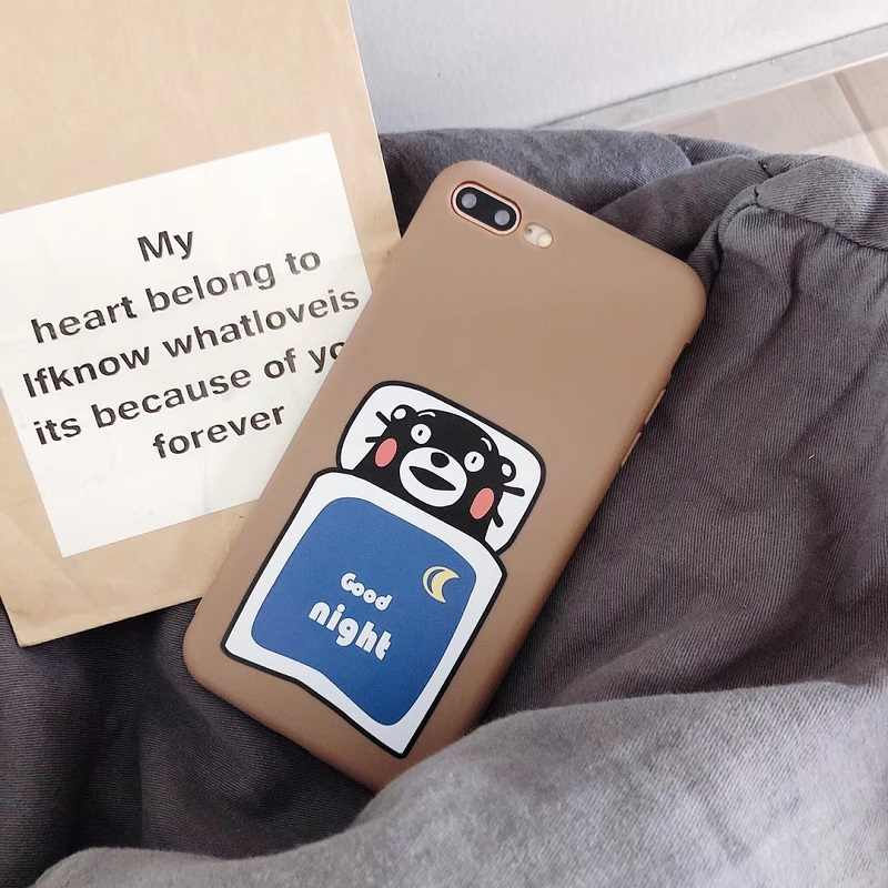Cartoon Spirited Away Ghibli Miyazaki Anime Kaonashi Faceless man Soft matte Phone Case For iPhone XR X 7 7Plus 6 6S XS Max case