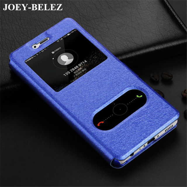 online retailer 1d41f 748bc US $2.66 26% OFF|Luxury Window Flip Cover For Huawei P Smart case Honor 9  lite Leather Case for Huawei Nova lite 2017 Mate 10 Pro P20 Plus Cases-in  ...