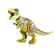 Jurassic World 2 Tyrannosaurus Rex Building Blocks Dinosaur Figures Bricks Toys Collection Toy