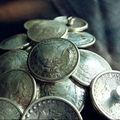 DIY Leathercraft Hardware Morgan Eagle Dollar Coin Concho Antique Silver # JP-6458S-38