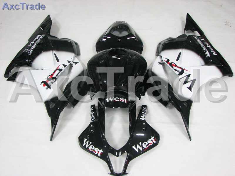 Motorcycle Fairings For Honda CBR600RR CBR600 CBR 600 RR 2007 2008 F5 ABS Plastic Injection Fairing Bodywork Kit White Black motorcycle winshield windscreen for honda cbr600rr f5 cbr 600 cbr600 rr f5 2007 2008 2009 2010 2011 2012