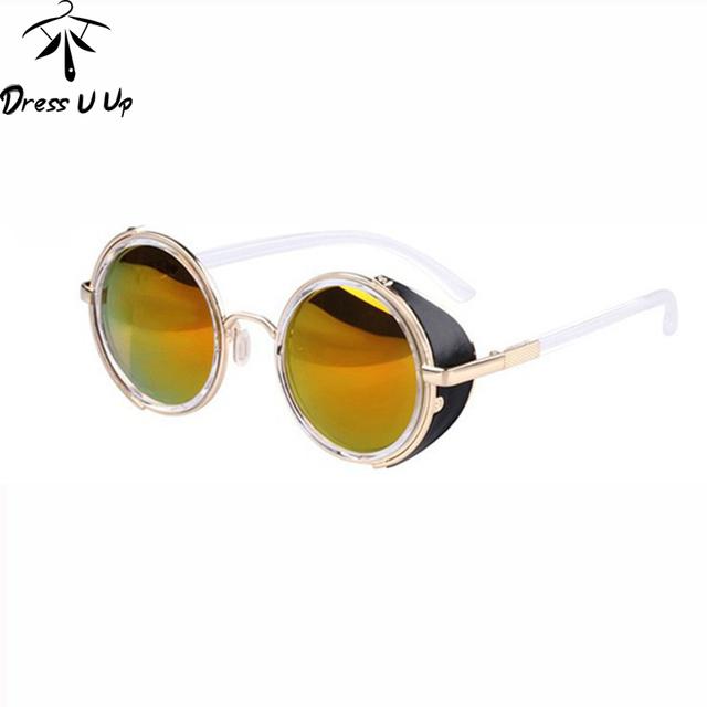 Renegade's Shades – Round Steampunk Sunglasses