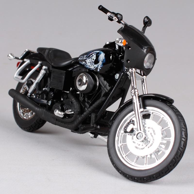 Maisto 1:12 Harley 2003 DYNA SUPER GLIDE SPORT JACKSON JAX TELLER - <font><b>SONS</b></font> <font><b>OF</b></font> <font><b>ANARCHY</b></font> <font><b>Motorcycle</b></font> Die-casts Metal Bike 32341