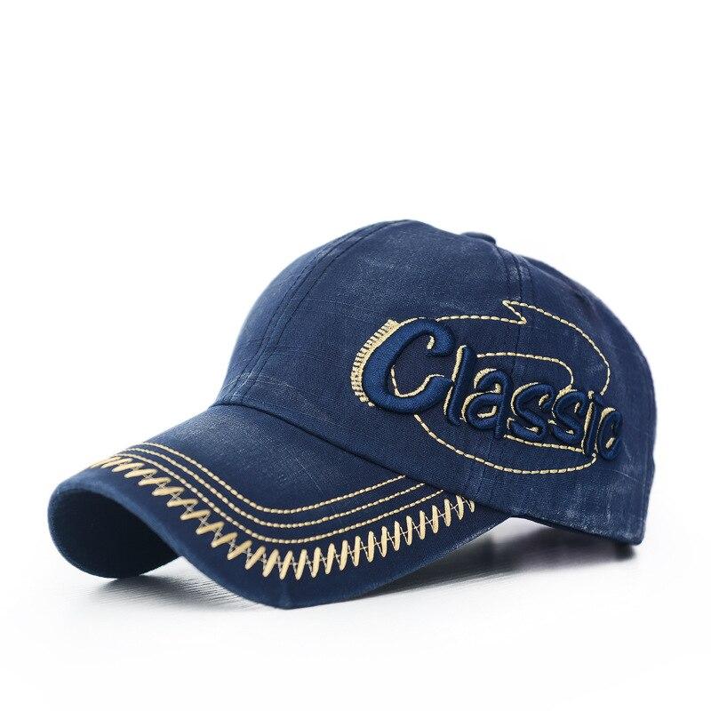 100%cotton Cap for men casual summer hat 3D CLASSIC letter Embroidered cap Unisex baseball caps